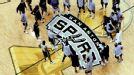 San Antonio Spurs practice