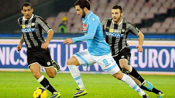 Napoli se prueba ante Udinese
