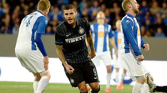 Icardi abri� el camino e Inter gole� en Islandia