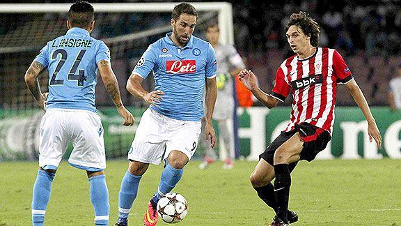 Athletic-Napoli, la revancha