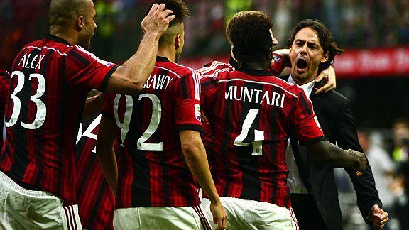 Milan choca con Empoli