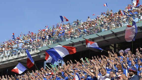 Francia, contundente y finalista