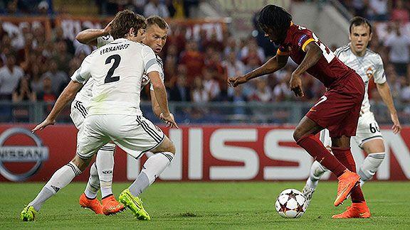 Roma golea a CSKA