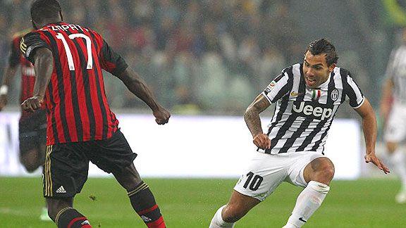 Milan-Juventus, por la punta