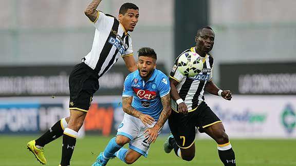 Napoli cay� con Udinese