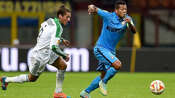 Inter s�lo empat� ante Saint Etienne