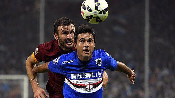 Roma igual� 0-0 con Sampdoria