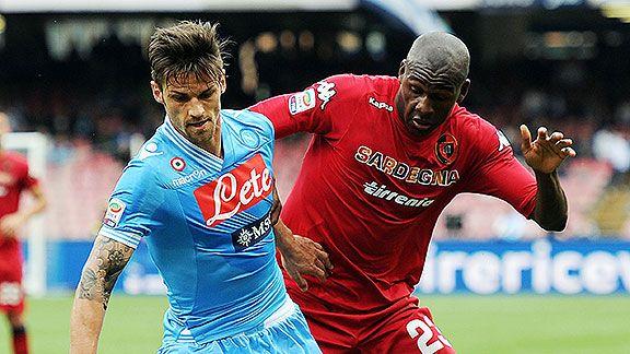 Napoli recibe a Cagliari