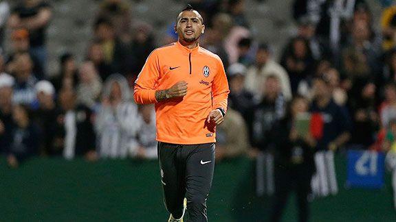 Allegri eval�a darle descanso a Vidal