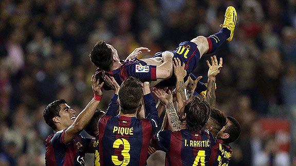 Messi super� el r�cord