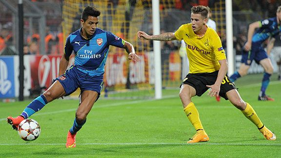Arsenal recibe al Dortmund