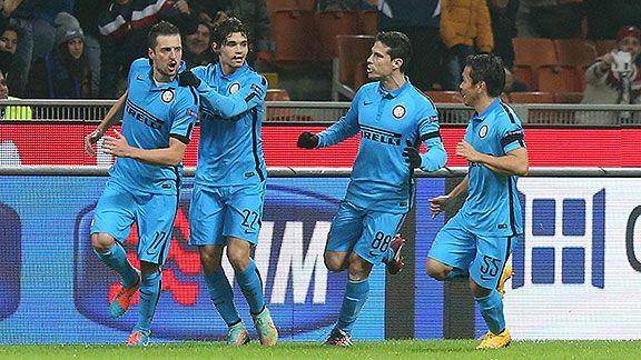 Inter gan� 2-1 ante Dnipro