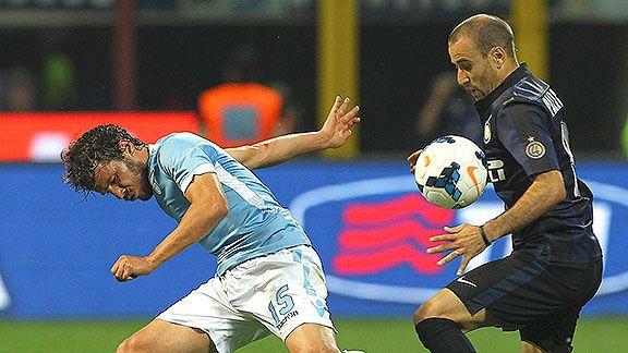 Inter prueba su recuperaci�n ante Lazio