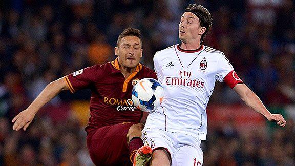 Roma quiere seguir a tiro ante Milan