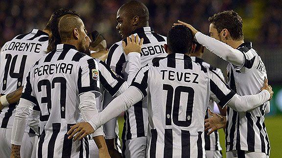 Juventus venci� 3-1 a Cagliari