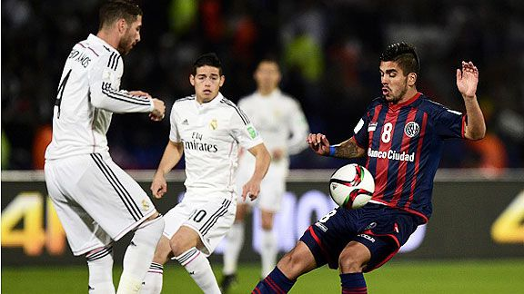 Ramos adelanta al Madrid