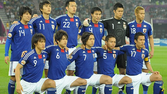 Japan caught the eye with their attractive style of play and fully merited their victory