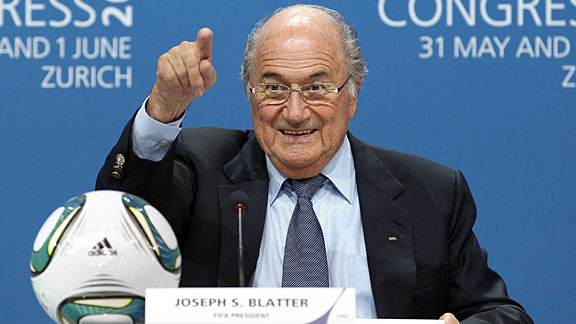 Sepp Blatter has held his position since 1998