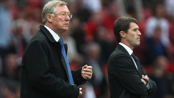 Sir Alex Ferguson and Roy Keane spent 12 years together at Manchester United