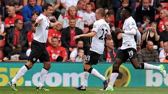 Souhampton vs Manchester United