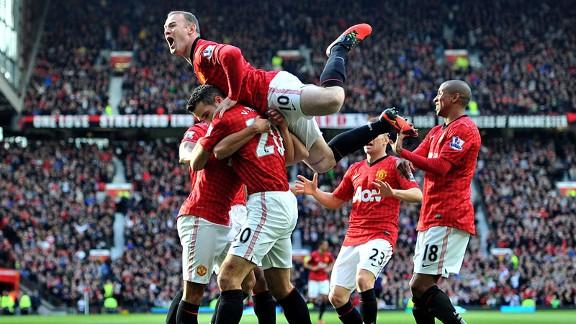 Manchester United vs Arsenal 3 November, 2012
