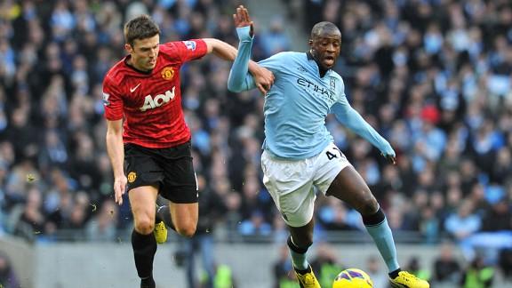 Manchester City vs Manchester United - 9 Disember 2012