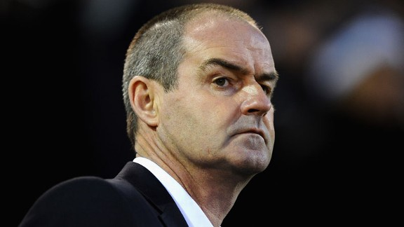 Steve Clarke West Brom close up