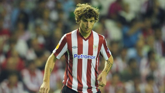 Fernando Amorebieta has made over 250 appearances during his nine years at Athletic Bilbao