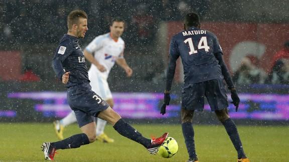 davidbeckhampsgmarseille 576x324 - Beckham hints at extending PSG stay