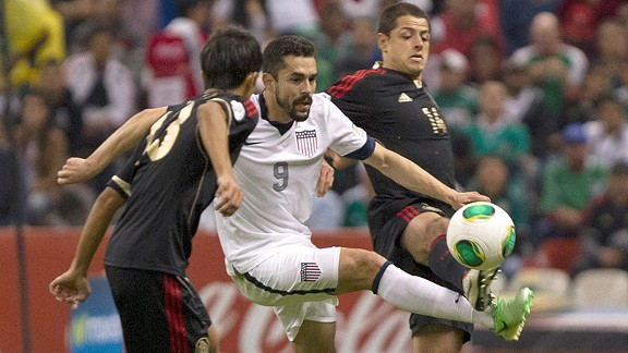 The United States and Mexico played out a stalemate