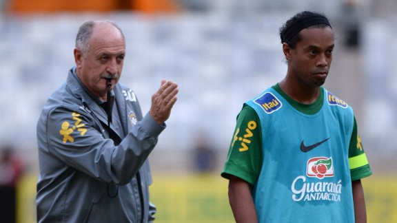 Luiz Felipe Scolari, Ronaldinho