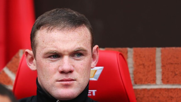 Wayne Rooney was rested by Sir Alex Ferguson for the game against Chelsea