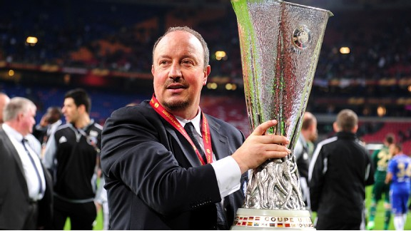 After a tumultuous season in charge of Chelsea, Rafa Benitez has finally achieved success