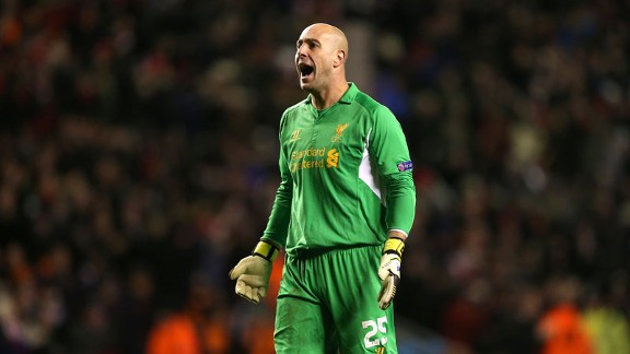 Liverpool goalkeeper Pepe Reina has made over 250 appearances for the club since joining in 2005