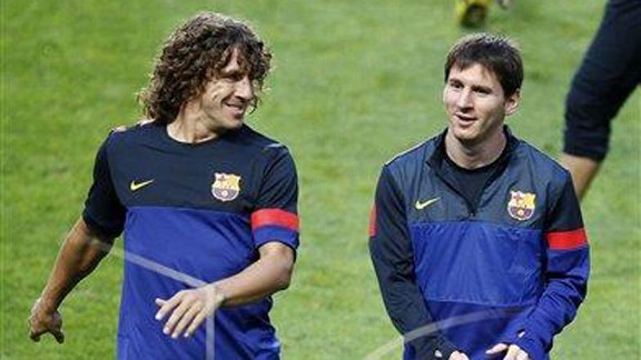 Carles Puyol and Lionel Messi will be among the Barcelona players travelling to Israel and Palestine