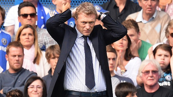 David Moyes faces a challenging start to life as manager of Manchester United