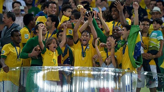 Brazil vs Spain Spanyol Piala Konfederasi 2013