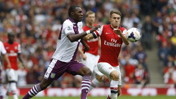 Arsenal vs Aston Villa 2013