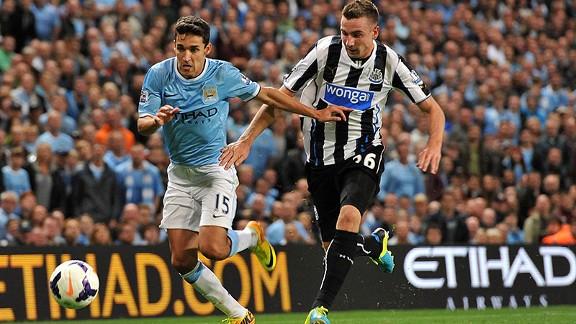 Manchester City vs Newcastle 2013