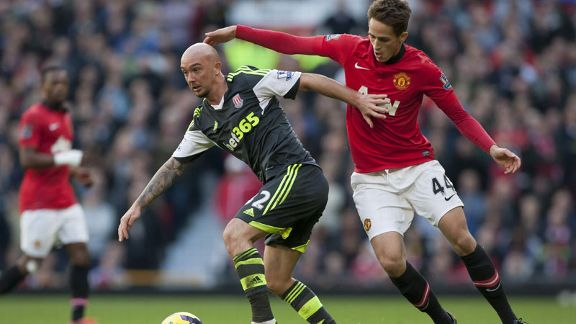 Stephen Ireland is enjoying his loan spell with Stoke.