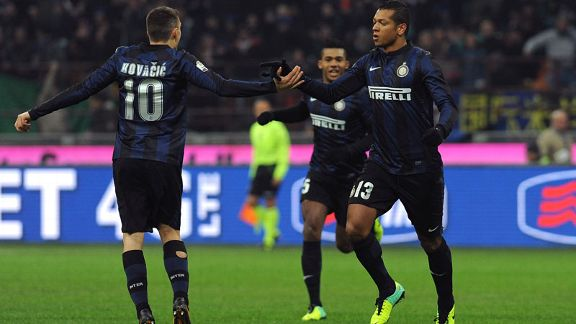 Fredy Guarin Inter milan team celeb