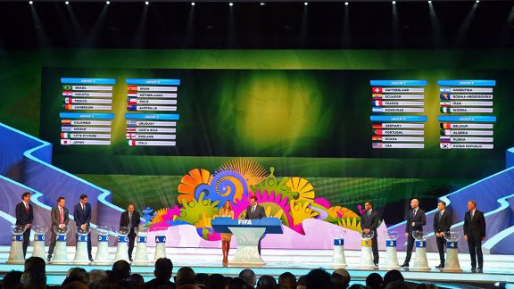 The 2014 FIFA World Cup draw has provided some fascinating groups.