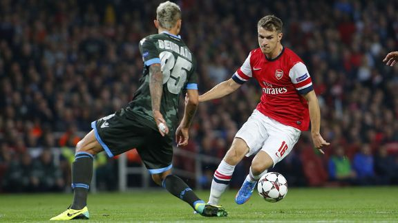 Aaron Ramsey vs. Napoli old