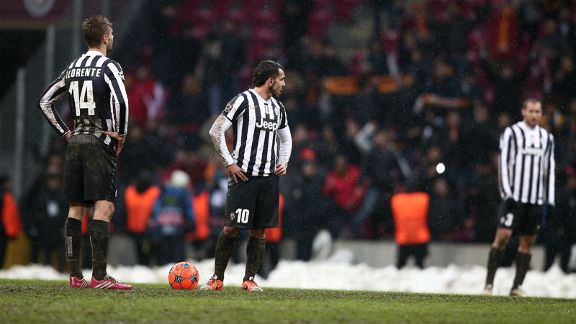 Juventus endured a disappointing defeat at Galatasaray.
