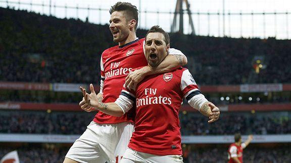 Arsenal vs Sunderland 22 Feb 2014