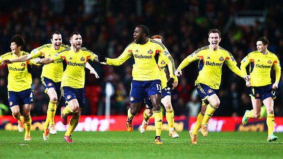 Manchester United vs Sunderland Piala Capital One