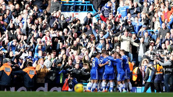 Chelsea vs Everton 22 Feb 2014