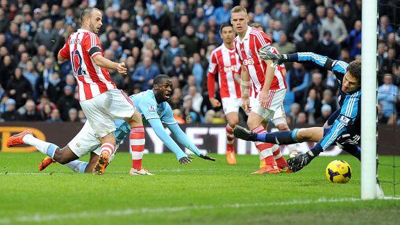 Manchester City vs Stoke City 1-0