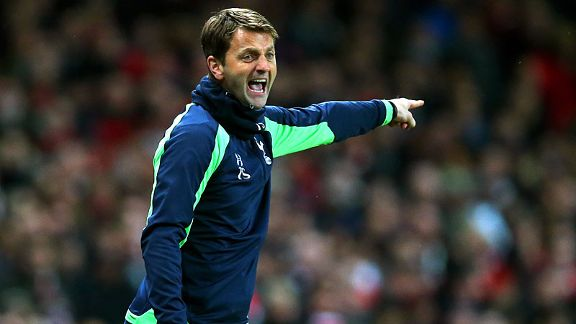 Spurs boss Tim Sherwood.
