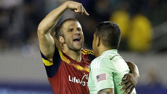 Real Salt Lake Chris Wingert Nick Rimando celeb